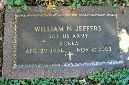 JEFFERS, WILLIAM N. - Fairfield County, Ohio | WILLIAM N. JEFFERS - Ohio Gravestone Photos