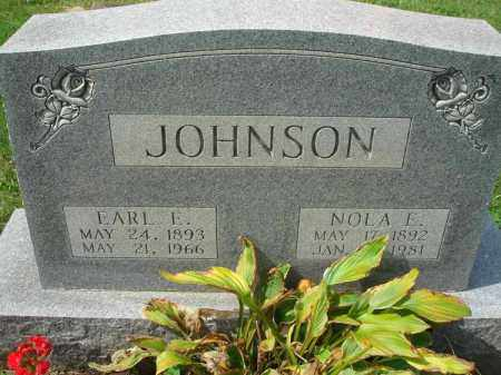 JOHNSON, NOLA E. - Fairfield County, Ohio | NOLA E. JOHNSON - Ohio Gravestone Photos