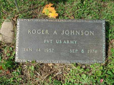 JOHNSON, ROGER A. - Fairfield County, Ohio | ROGER A. JOHNSON - Ohio Gravestone Photos