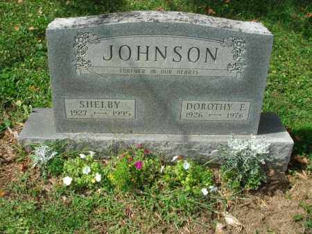 JOHNSON, SHELBY - Fairfield County, Ohio | SHELBY JOHNSON - Ohio Gravestone Photos