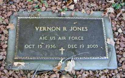 JONES, VERNON R. - Fairfield County, Ohio | VERNON R. JONES - Ohio Gravestone Photos
