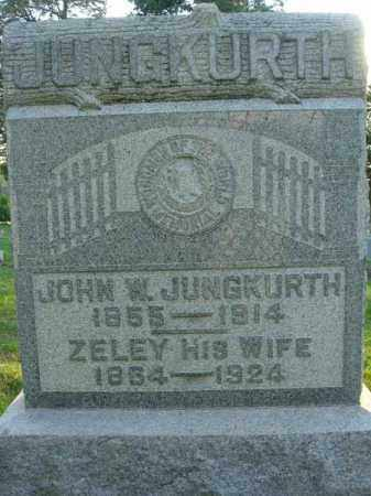 JUNGKURTH, ZELEY - Fairfield County, Ohio | ZELEY JUNGKURTH - Ohio Gravestone Photos