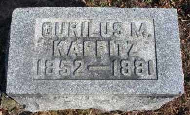 KAFFITZ, GURILUS M. - Fairfield County, Ohio | GURILUS M. KAFFITZ - Ohio Gravestone Photos