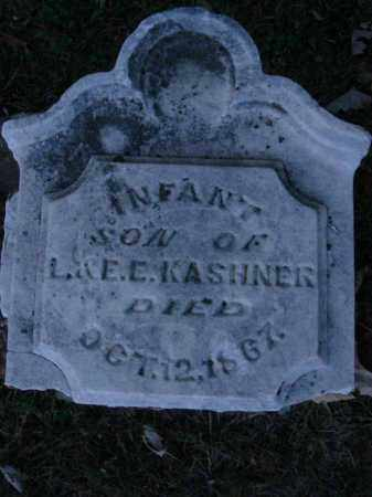 KASHNER, INFANT SON - Fairfield County, Ohio | INFANT SON KASHNER - Ohio Gravestone Photos