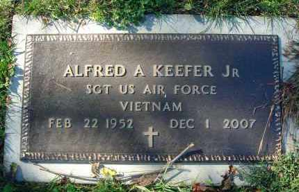 KEEFER, ALFRED A. - Fairfield County, Ohio | ALFRED A. KEEFER - Ohio Gravestone Photos