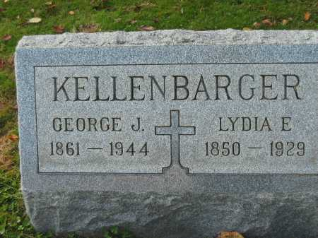 KELLENBARGER, LYDIA A. - Fairfield County, Ohio | LYDIA A. KELLENBARGER - Ohio Gravestone Photos