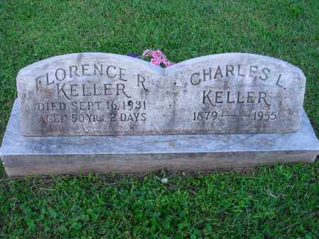 KELLER, FLORENCE R. - Fairfield County, Ohio | FLORENCE R. KELLER - Ohio Gravestone Photos