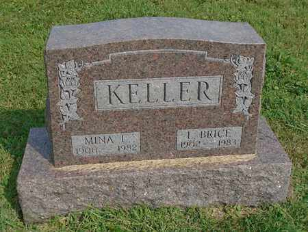 KELLER, MINA L. - Fairfield County, Ohio | MINA L. KELLER - Ohio Gravestone Photos