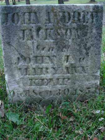 KEMP, JOHN ANDREW JACKSON - Fairfield County, Ohio | JOHN ANDREW JACKSON KEMP - Ohio Gravestone Photos