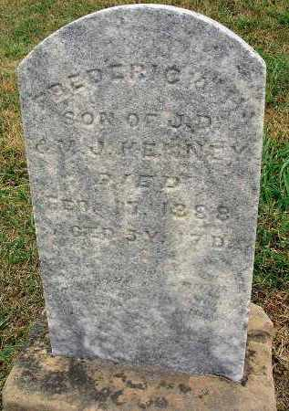 KENNEY, FREDERICK H. - Fairfield County, Ohio | FREDERICK H. KENNEY - Ohio Gravestone Photos