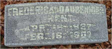 KENT, FREDERICA - Fairfield County, Ohio | FREDERICA KENT - Ohio Gravestone Photos