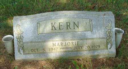 KERN, MARJORIE - Fairfield County, Ohio | MARJORIE KERN - Ohio Gravestone Photos