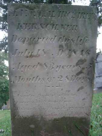 KERSCHNER, ANNA MARGARET - Fairfield County, Ohio | ANNA MARGARET KERSCHNER - Ohio Gravestone Photos