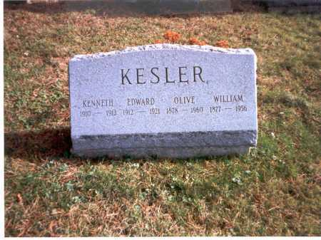 KESLER, EDWARD - Fairfield County, Ohio | EDWARD KESLER - Ohio Gravestone Photos