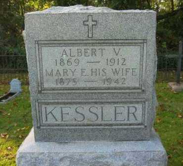 KESSLER, ALBERT V. - Fairfield County, Ohio | ALBERT V. KESSLER - Ohio Gravestone Photos