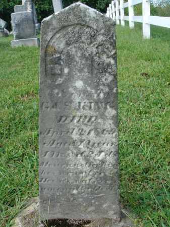 KING?, ? - Fairfield County, Ohio | ? KING? - Ohio Gravestone Photos