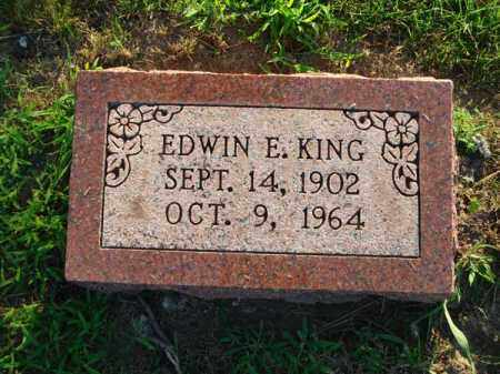 KING, EDWIN E. - Fairfield County, Ohio | EDWIN E. KING - Ohio Gravestone Photos