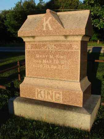 KING, MARY M. - Fairfield County, Ohio | MARY M. KING - Ohio Gravestone Photos