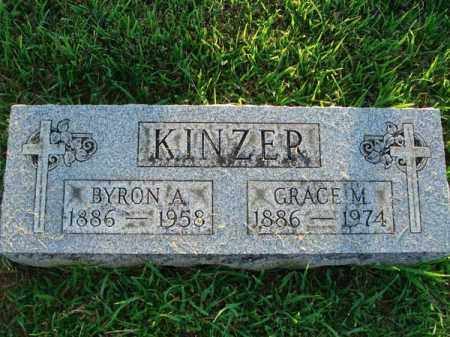 KINZER, BYRON A. - Fairfield County, Ohio | BYRON A. KINZER - Ohio Gravestone Photos