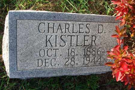KISTLER, CHARLES D. - Fairfield County, Ohio | CHARLES D. KISTLER - Ohio Gravestone Photos