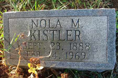 KISTLER, NOLA M. - Fairfield County, Ohio | NOLA M. KISTLER - Ohio Gravestone Photos