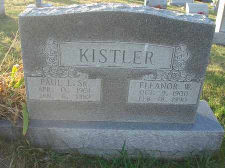 KISTLER, ELEANOR WILMA - Fairfield County, Ohio | ELEANOR WILMA KISTLER - Ohio Gravestone Photos