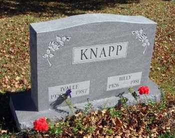 KNAPP, BILLY - Fairfield County, Ohio | BILLY KNAPP - Ohio Gravestone Photos