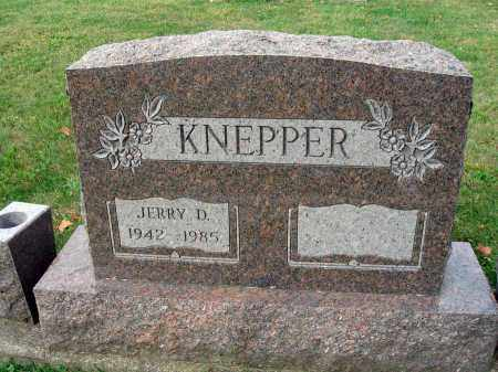 KNEPPER, JERRY D. - Fairfield County, Ohio | JERRY D. KNEPPER - Ohio Gravestone Photos