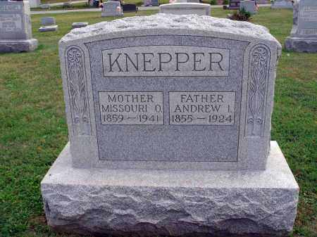 KNEPPER, ANDREW I. - Fairfield County, Ohio | ANDREW I. KNEPPER - Ohio Gravestone Photos
