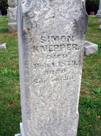 KNEPPER, SIMON - Fairfield County, Ohio | SIMON KNEPPER - Ohio Gravestone Photos