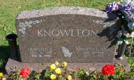 KNOWLTON, DOROTHY E. - Fairfield County, Ohio | DOROTHY E. KNOWLTON - Ohio Gravestone Photos