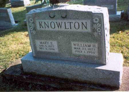 KNOWLTON, MARY E - Fairfield County, Ohio | MARY E KNOWLTON - Ohio Gravestone Photos
