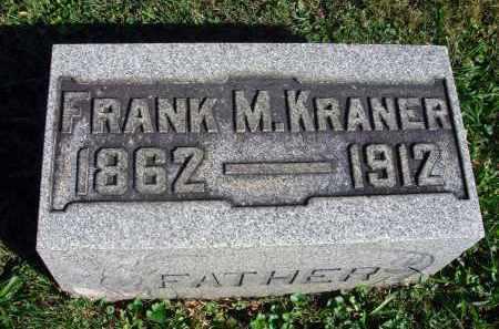 KRANER, FRANK M. - Fairfield County, Ohio | FRANK M. KRANER - Ohio Gravestone Photos