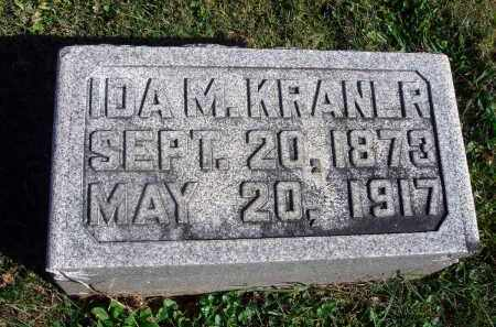 KRANER, IDA M. - Fairfield County, Ohio | IDA M. KRANER - Ohio Gravestone Photos