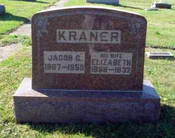 KRANER, ELIZABETH - Fairfield County, Ohio | ELIZABETH KRANER - Ohio Gravestone Photos