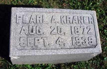KRANER, PEARL A. - Fairfield County, Ohio | PEARL A. KRANER - Ohio Gravestone Photos