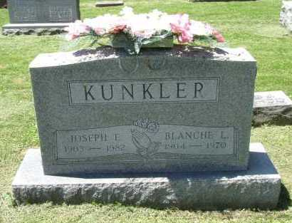 KUNKLER, JOSEPH L. - Fairfield County, Ohio | JOSEPH L. KUNKLER - Ohio Gravestone Photos