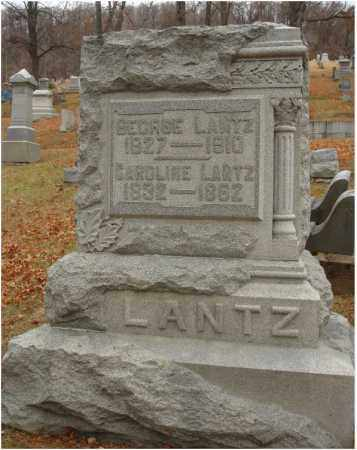 LANTZ, CAROLINE - Fairfield County, Ohio | CAROLINE LANTZ - Ohio Gravestone Photos