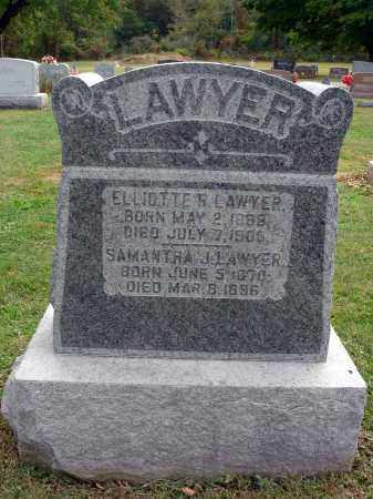 LAWYER, SAMANTHA J. - Fairfield County, Ohio | SAMANTHA J. LAWYER - Ohio Gravestone Photos