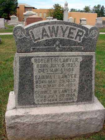 LAWYER, SABINA L. - Fairfield County, Ohio | SABINA L. LAWYER - Ohio Gravestone Photos