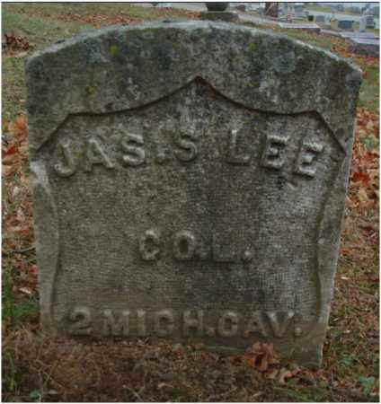 LEE, JAS. S. - Fairfield County, Ohio | JAS. S. LEE - Ohio Gravestone Photos