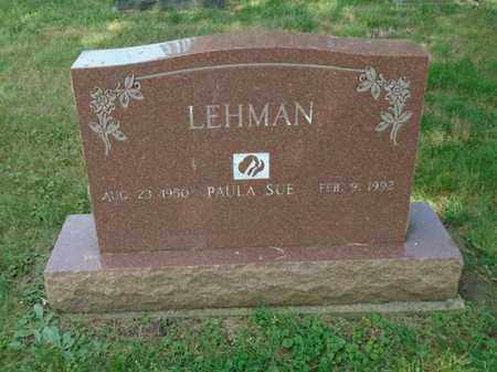 LEHMAN, PAULA SUE - Fairfield County, Ohio | PAULA SUE LEHMAN - Ohio Gravestone Photos