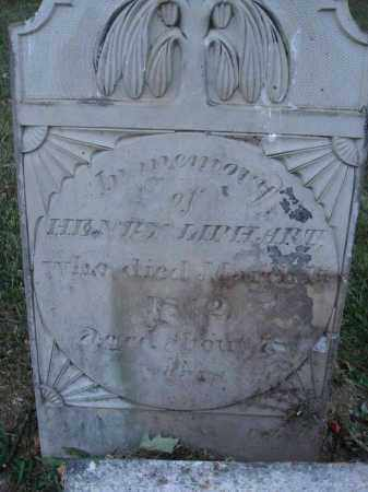 LIPHART, HENRY - Fairfield County, Ohio | HENRY LIPHART - Ohio Gravestone Photos