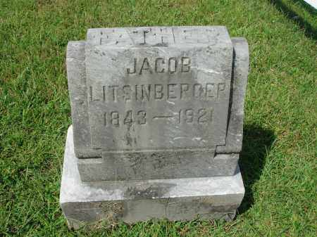 LITSINBERGER, JACOB - Fairfield County, Ohio | JACOB LITSINBERGER - Ohio Gravestone Photos