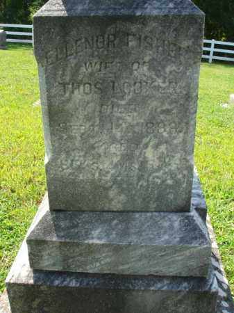 FISHER LOOKER, ELLENOR - Fairfield County, Ohio | ELLENOR FISHER LOOKER - Ohio Gravestone Photos