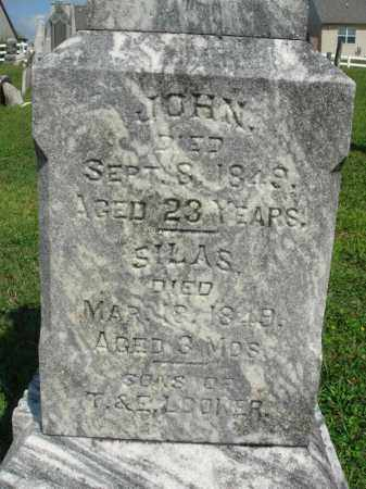 LOOKER, SILAS - Fairfield County, Ohio | SILAS LOOKER - Ohio Gravestone Photos