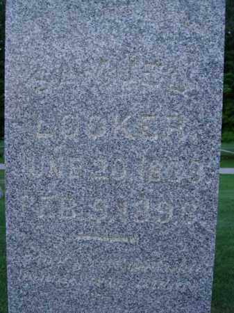 LOOKER, SAMUEL - Fairfield County, Ohio | SAMUEL LOOKER - Ohio Gravestone Photos