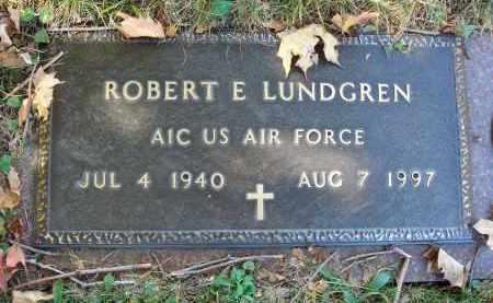 LUNDGREN, ROBERT E. - Fairfield County, Ohio | ROBERT E. LUNDGREN - Ohio Gravestone Photos