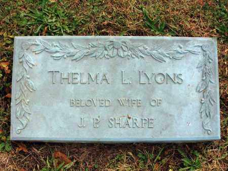 LYONS, THELMA L. - Fairfield County, Ohio | THELMA L. LYONS - Ohio Gravestone Photos
