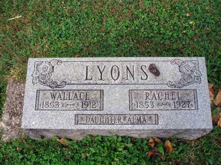 LYONS, RACHEL - Fairfield County, Ohio | RACHEL LYONS - Ohio Gravestone Photos
